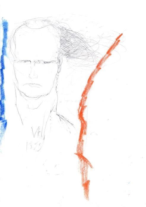 Victor Hugo sur le rocher des Proscrits,  Jeanne Gatard