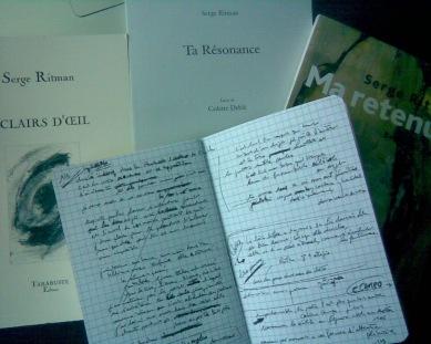 Ritman carnet et livres